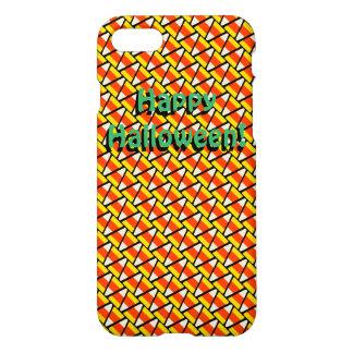 Happy Halloween Candy Corn Pattern iPhone 8/7 Case