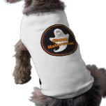 Happy Halloween cartoon ghost dog t-shirt