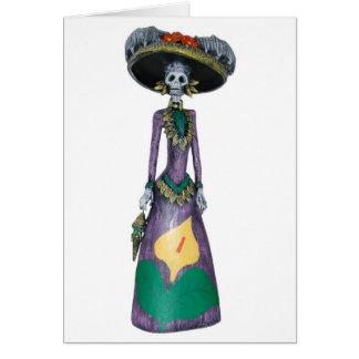 Happy Halloween Catrina Card