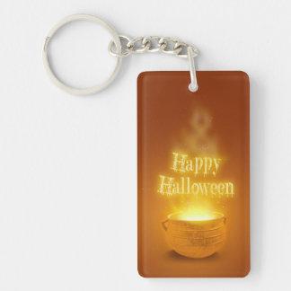 Happy Halloween Cauldron - Acrylic Keychain