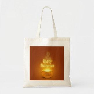 Happy Halloween Cauldron - Budget Tote Budget Tote Bag