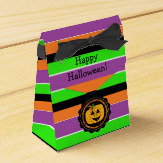 Happy Halloween Colorful Favor Bag Favour Box