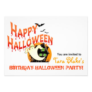 Happy Halloween Costume Party Invitation