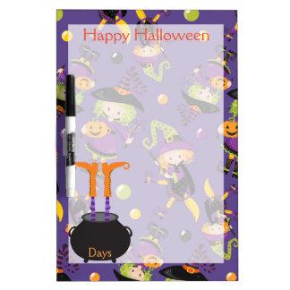 Happy Halloween Countdown Dry Erase Board
