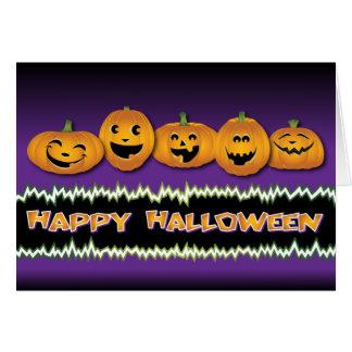 Happy Halloween Custom Greeting Card
