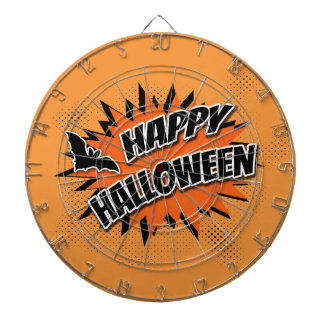 Happy Halloween Dartboards
