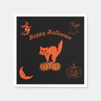Happy Halloween Disposable Napkins