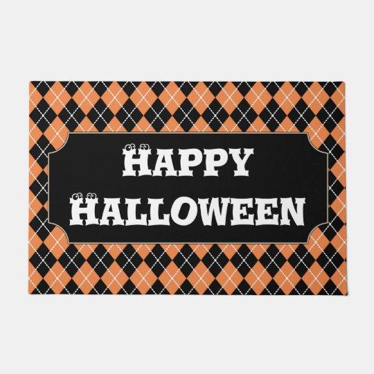 Happy Halloween Doormat Rug Decor