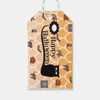 Happy Halloween emoji Gift Tags