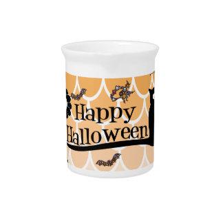Happy Halloween emoji Pitcher