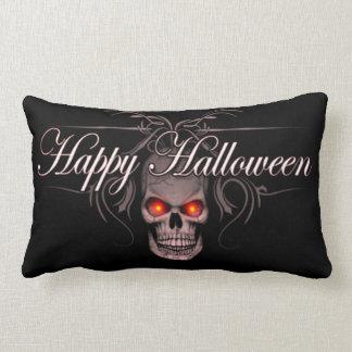 Happy Halloween Evil Skull Lumbar Cushion
