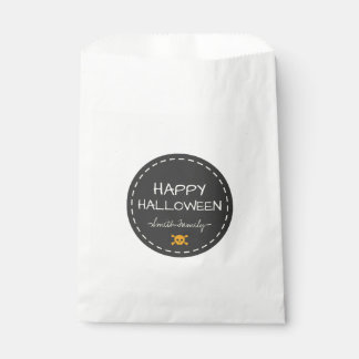 Happy Halloween. Favour Bags