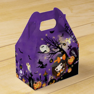 Happy Halloween Party Favour Box