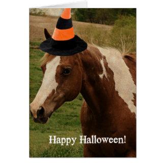 Happy Halloween Flashy Card