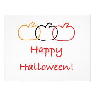 Happy Halloween Full Color Flyer