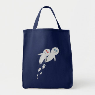 Happy Halloween from a Ghost Family Bags
