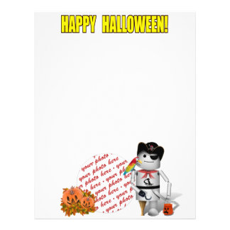 Happy Halloween from Robo-x9 21.5 Cm X 28 Cm Flyer