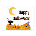 Happy Halloween from the Pumpkin Patch Postcard