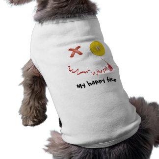 Happy Halloween Funny Face Doggie Shirt