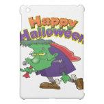 happy halloween funny frankenstein cartoon cover for the iPad mini