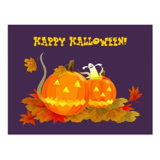 Happy Halloween! Funny Jack O'Lantern Postcards