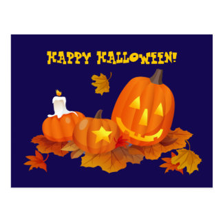 Happy Halloween! Funny Jack O'Lanterns Postcards