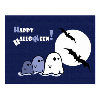 Happy Halloween!Funny Little Ghosts Postcards