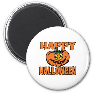 Happy Halloween Funny Pumpkin Refrigerator Magnets