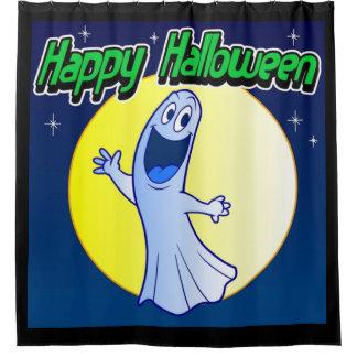 Happy Halloween Ghost Shower Curtain