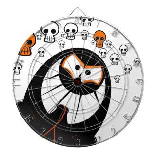 Happy Halloween Ghosts Dartboard With Darts