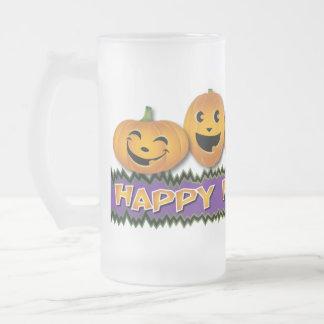 Happy Halloween Glass Mug