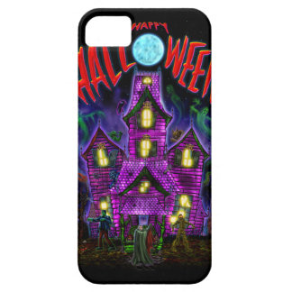 Happy Halloween Glowing Haunted House iPhone case iPhone 5 Covers