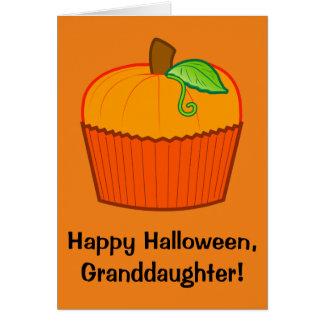 Happy Halloween Granddaughter Card