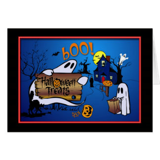 Happy Halloween Greeting Card for Kids