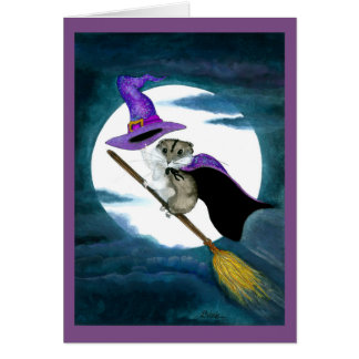 Happy Halloween Hamster Card by Bihrle