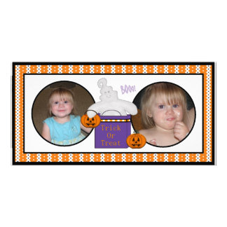 Happy Halloween Happy Ghost Photo Cards