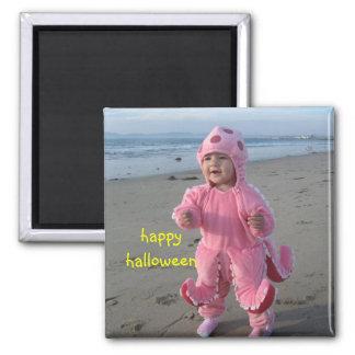 Happy_Halloween, happyhalloween Square Magnet