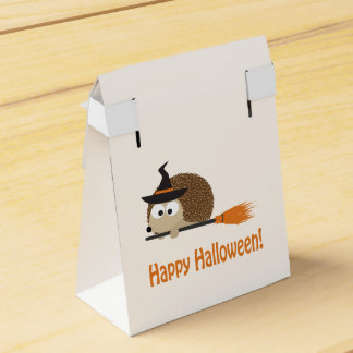 Happy Halloween! Hedgehog Witch Party Favour Box