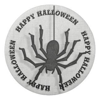 Happy Halloween Huge Black Spider Eraser