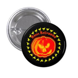 Happy Halloween! Jack - O - Lantern 3 Cm Round Badge