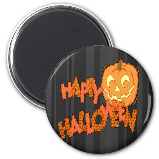 Happy Halloween Jack o lantern Magnet