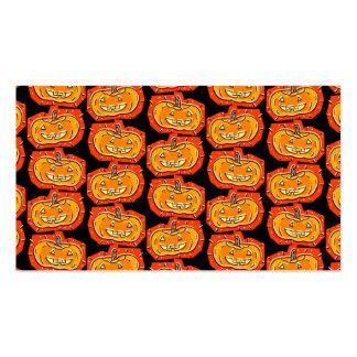 Happy Halloween Jack O' Lantern Pack Of Standard Business Cards