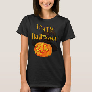 Happy Halloween Jack-O-Lantern T-Shirt