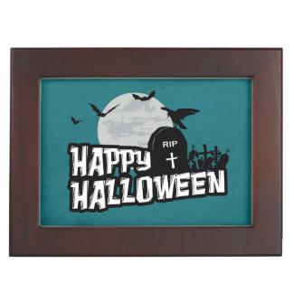 Happy Halloween Keepsake Box