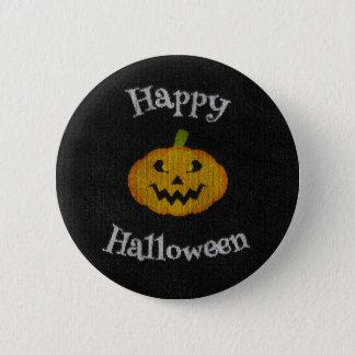 Happy Halloween Knit 6 Cm Round Badge
