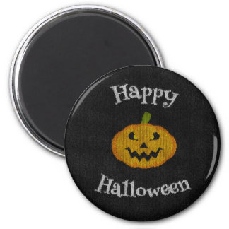 Happy Halloween Knit Magnet