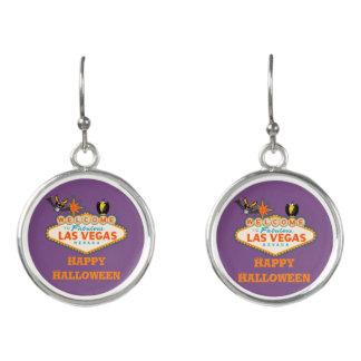 Happy Halloween Las Vegas Style Earrings