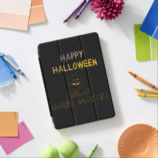 Happy Halloween Look good, feel safe Chilax iPad Pro Cover