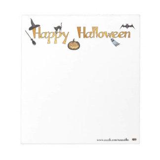 Happy Halloween Memo Pad