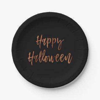 Happy Halloween Modern Halloween Plates